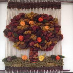 Tejido Decorativo En Telar Terapeutas De Chile