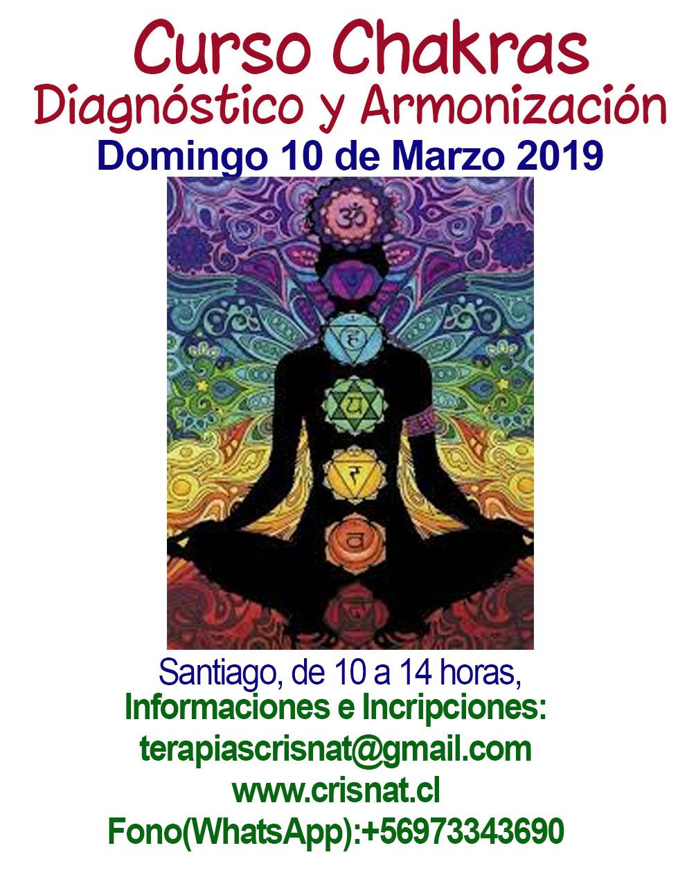 Curso Chakras, Diagnóstico y Armonización