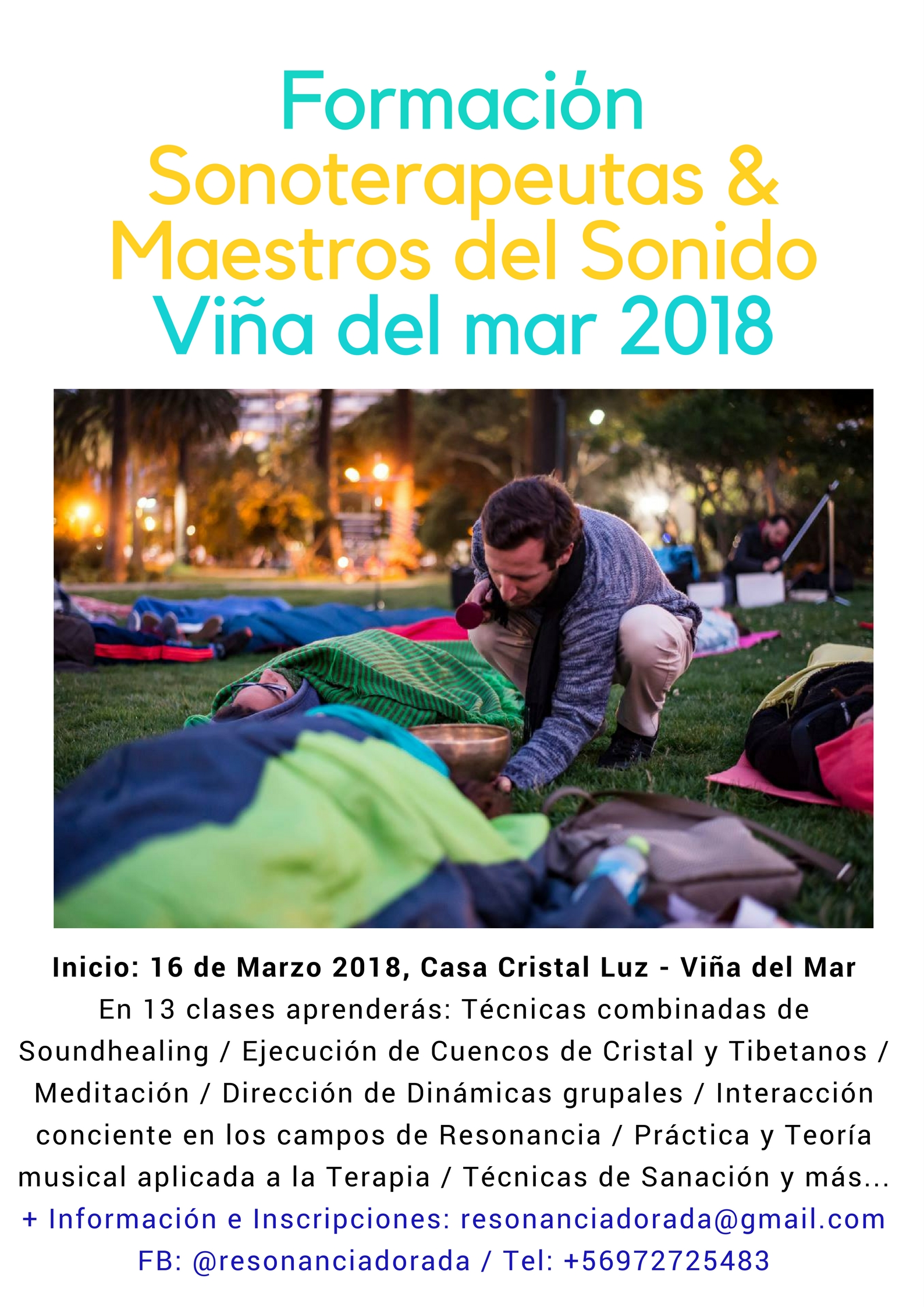 Formación Sonoterepautas Viña del Mar 2018