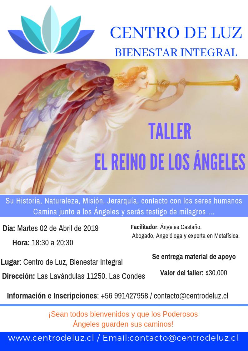 TALLER  EL REINO DE LOS ÁNGELES