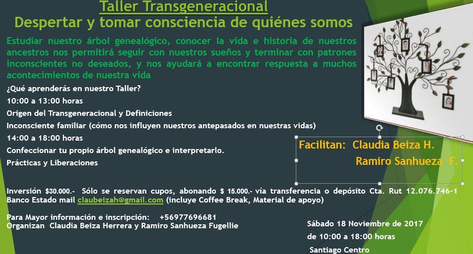 Taller Transgeneracional