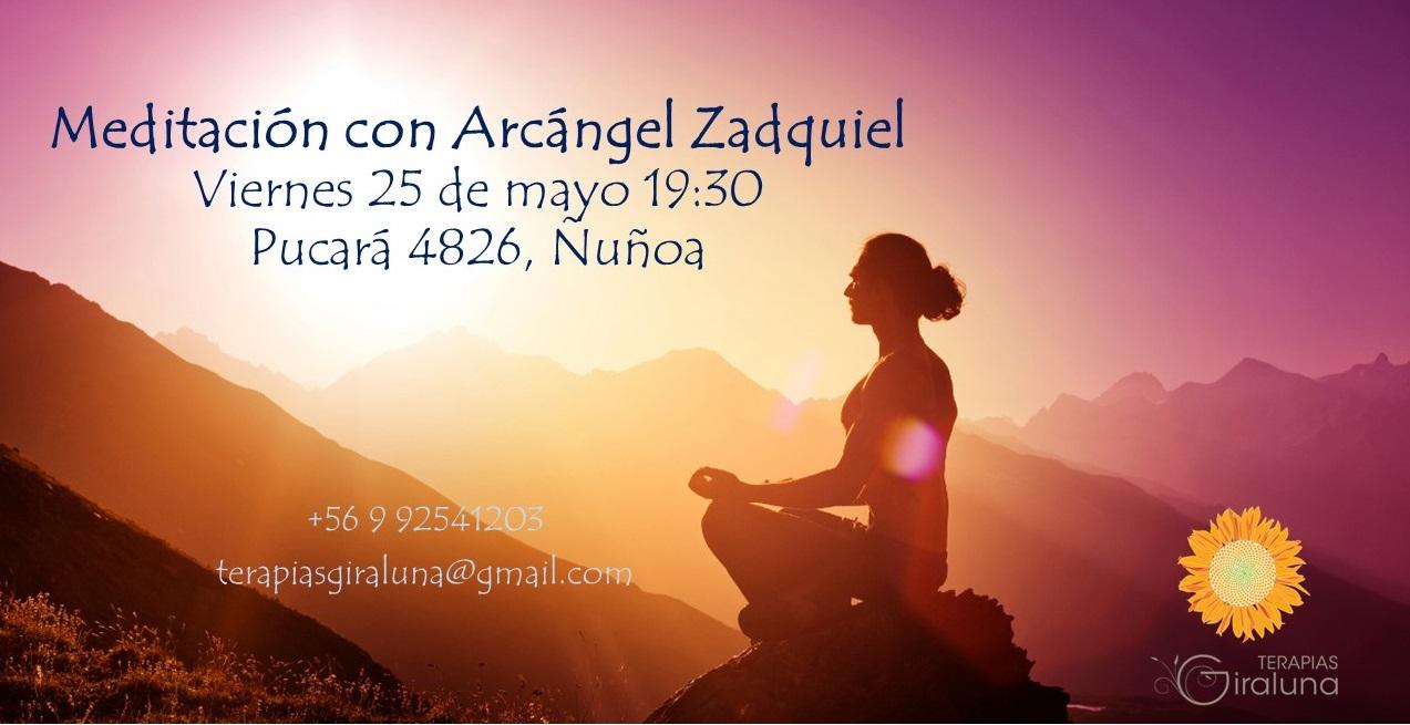 Meditación Arcángel Zadquiel
