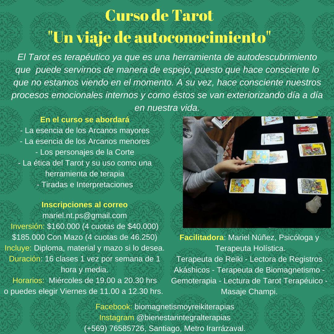 Curso de Tarot, Un viaje de Autoconocimiento
