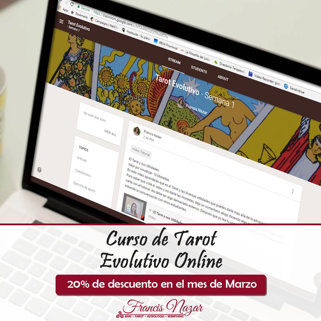 Â¡En Oferta! Curso de Tarot Evolutivo Online