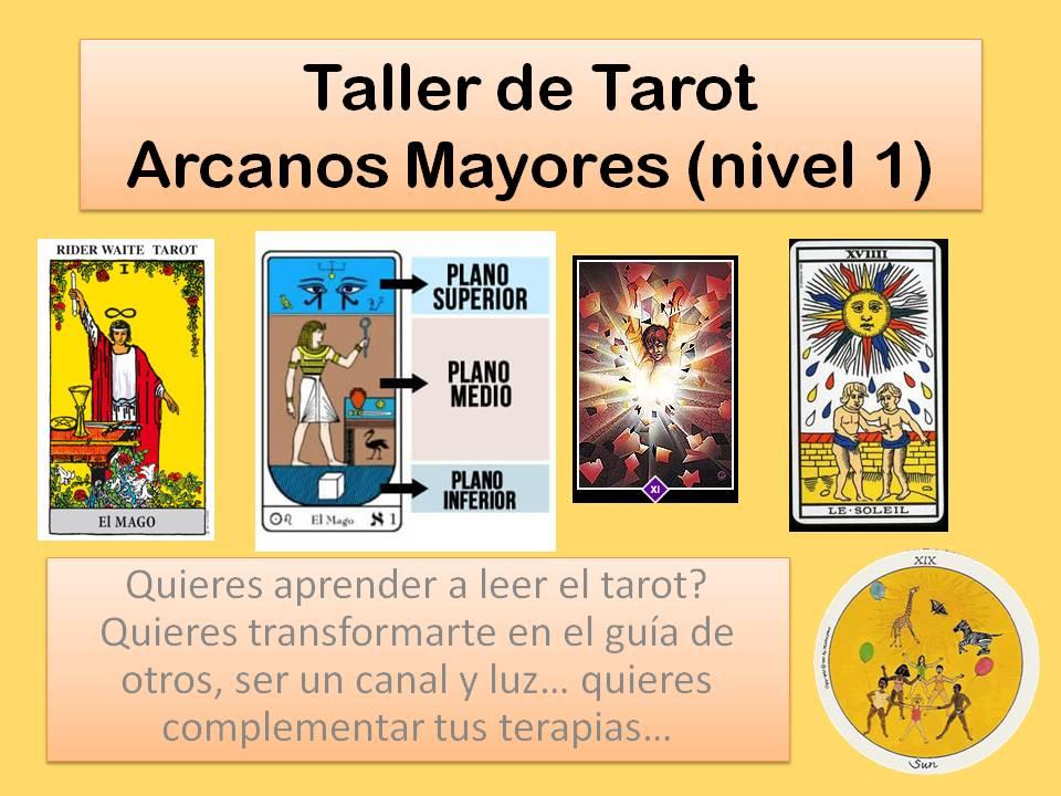 Taller de Tarot nivel 1