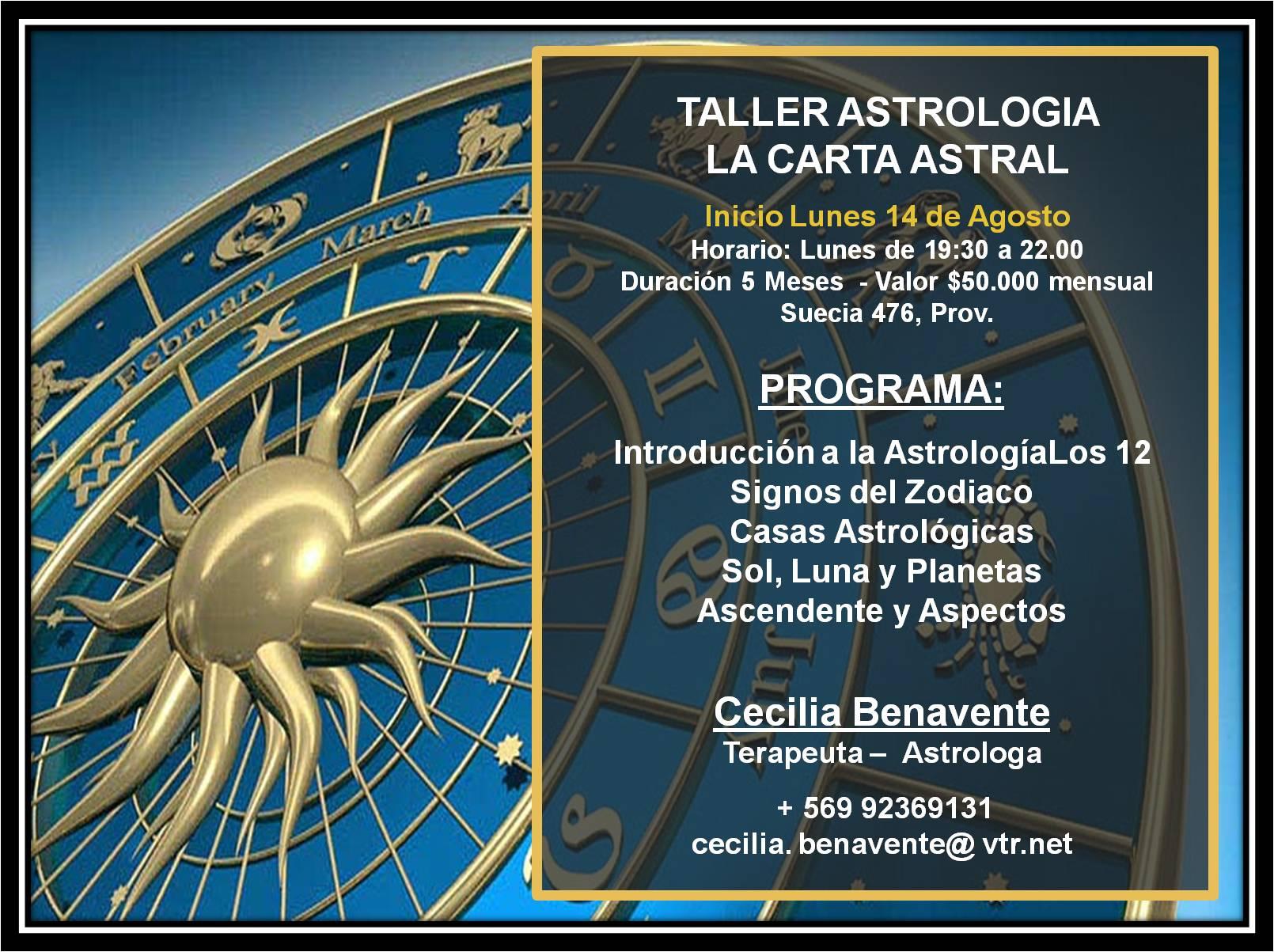 Curso Astrología: La Carta Astral