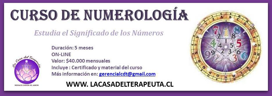 CURSO DE NUMEROLOGÍA ONLINE