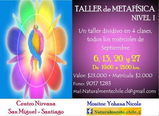 Taller de Metafísica, Nivel I