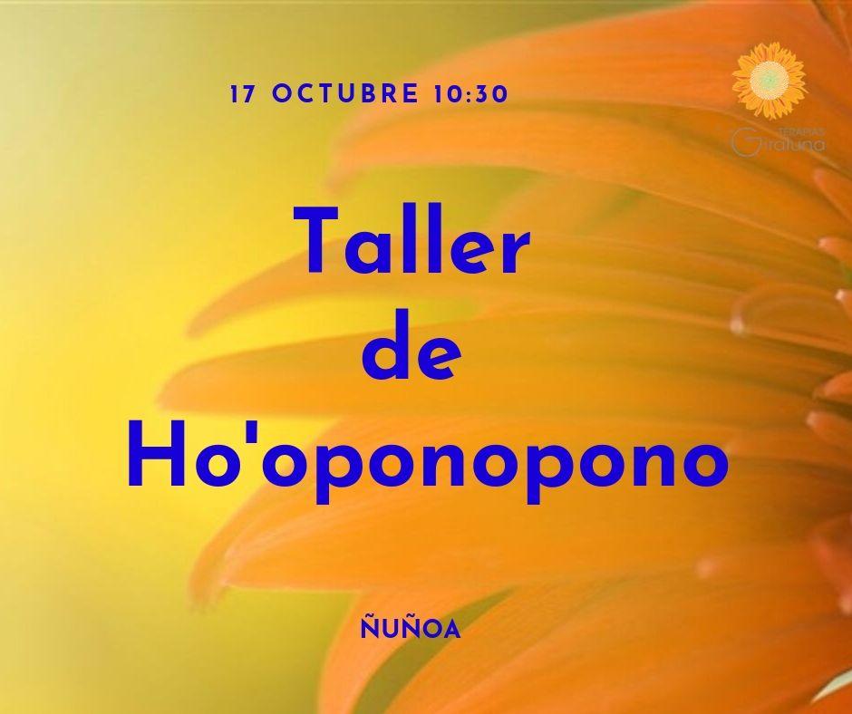 Taller de Hooponopono