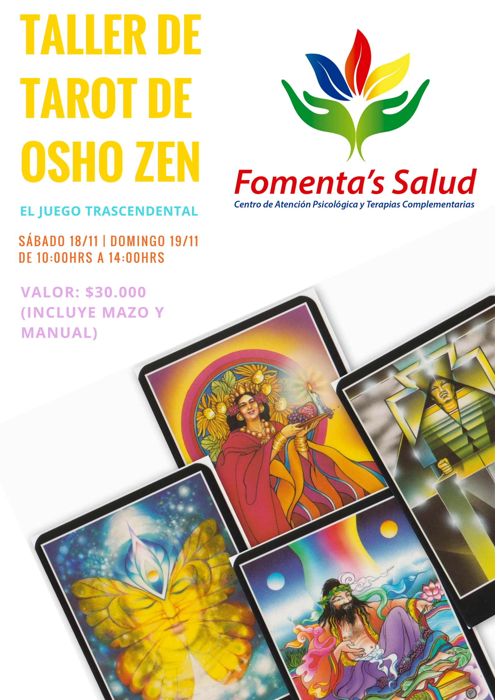 Taller de Tarot Osho Zen, El Juego Trascendental