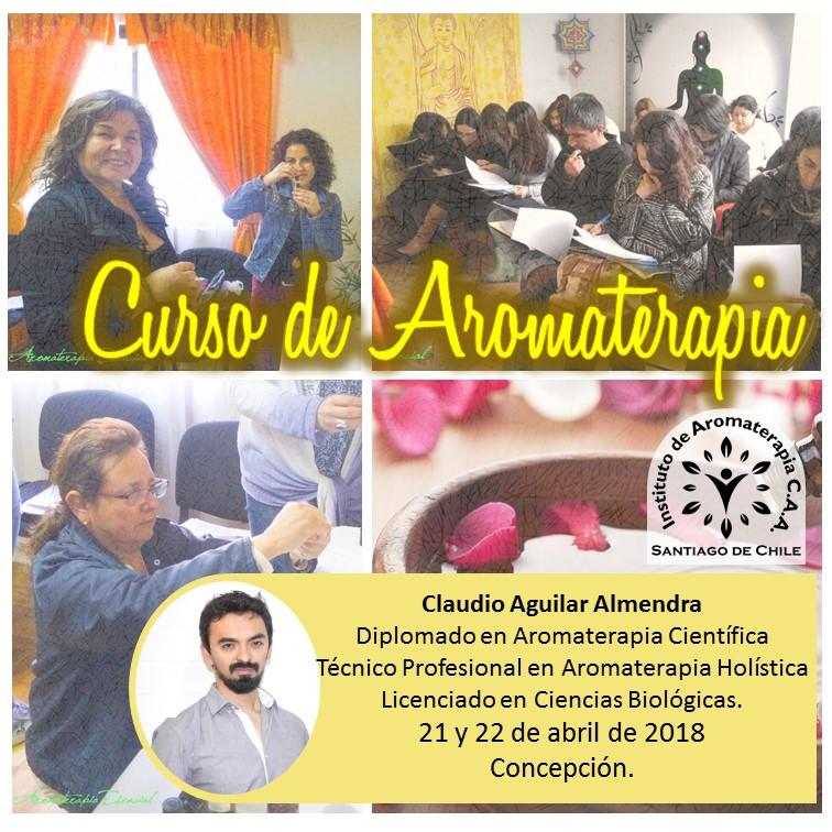 Curso de Aromaterapia en Concepción