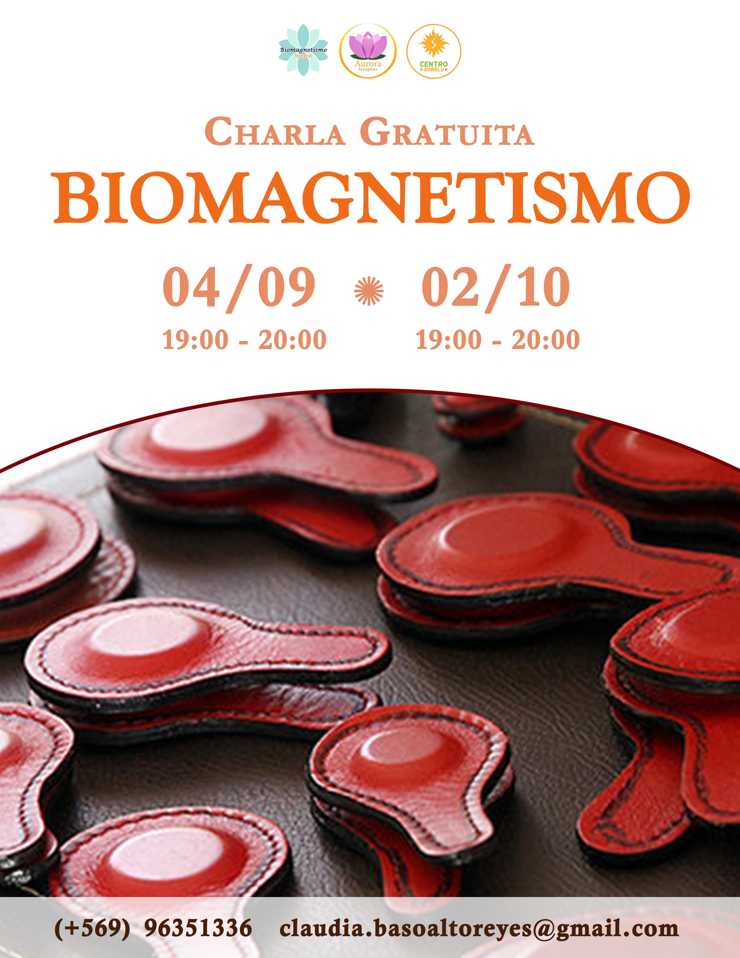 Charla GRATUITA Biomagnetismo