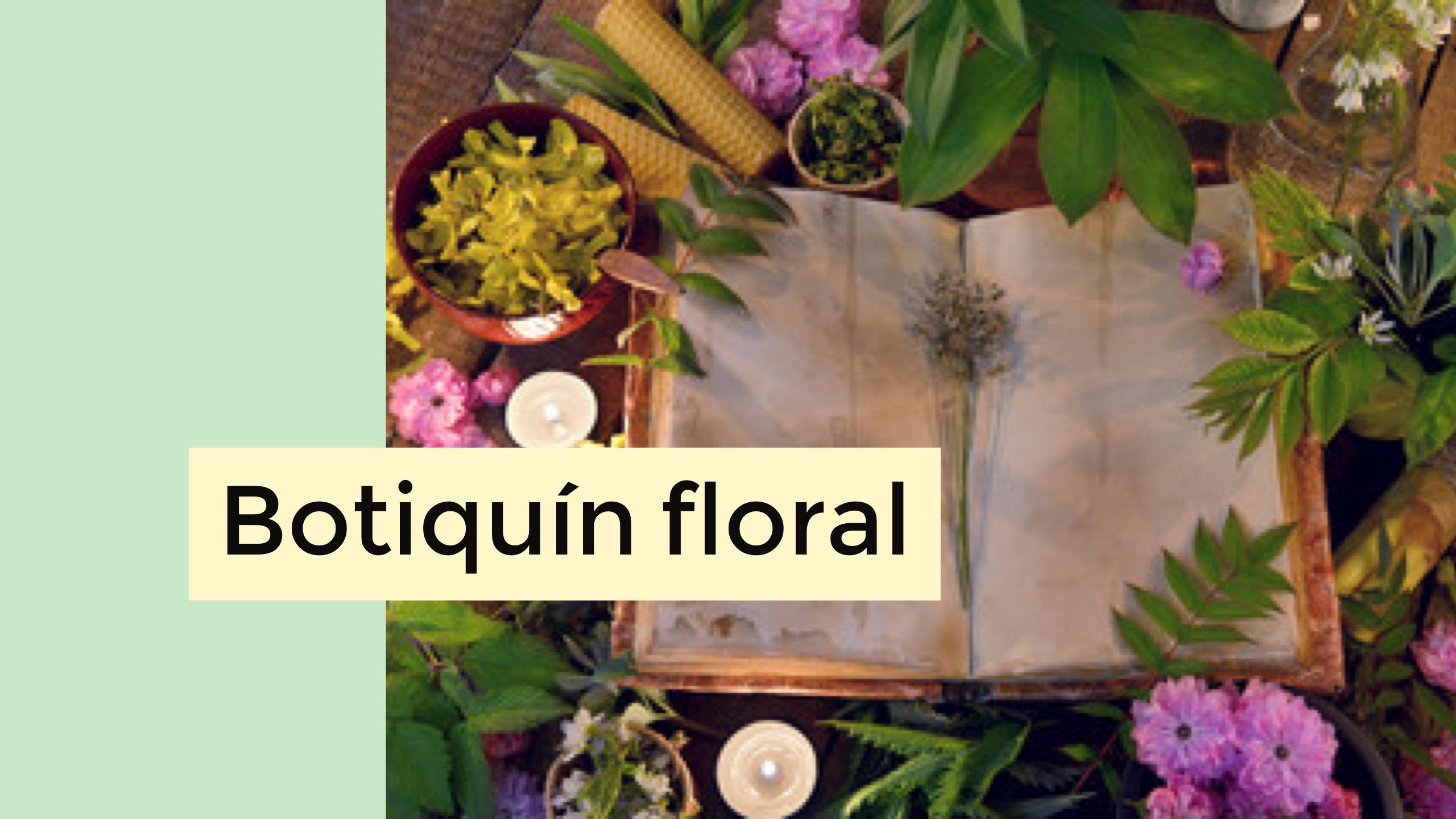 Taller Botiquín Floral