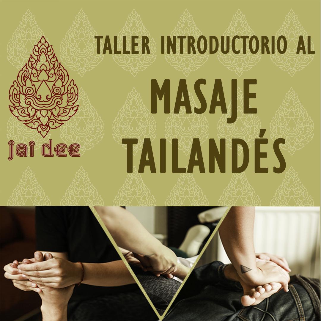 Taller introductorio al Masaje Tailandés