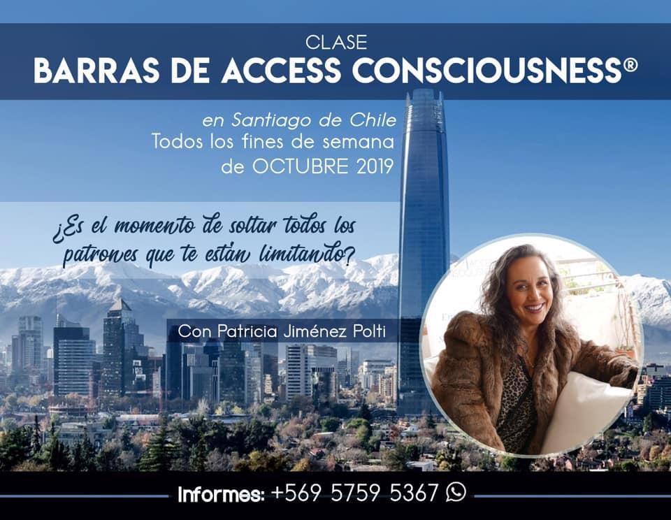 Clase de Barras Access Consiousness en Santiago