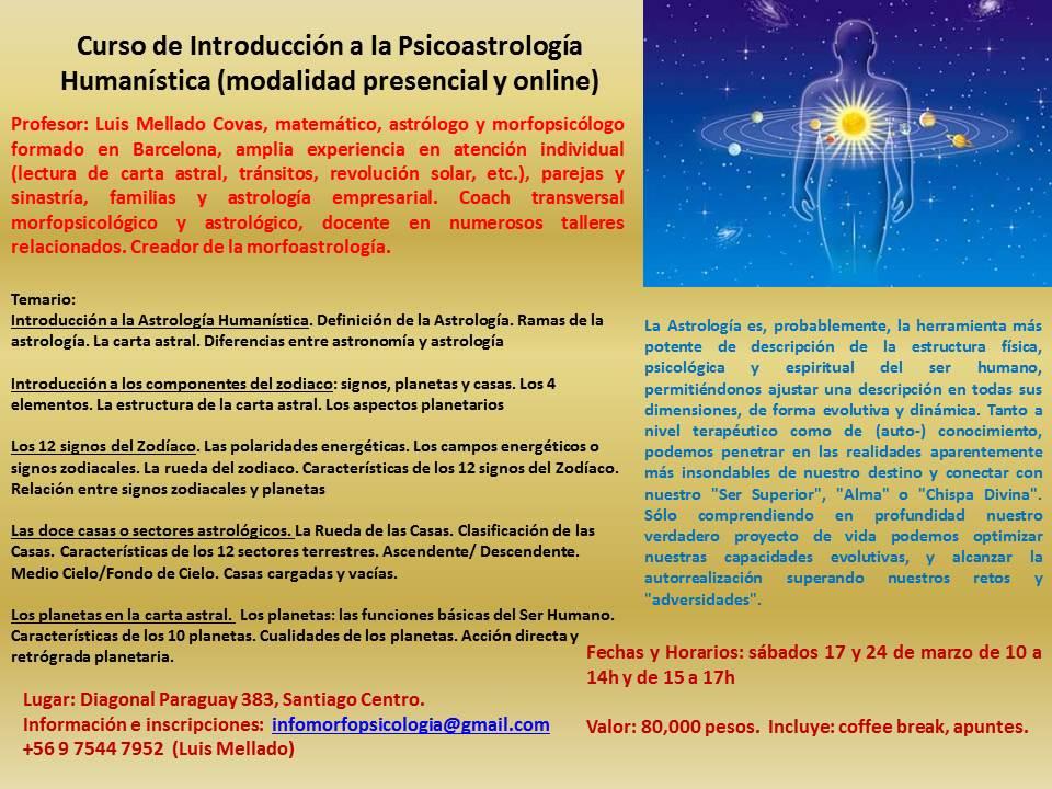 Introducción a la Psicoastrología Humanística
