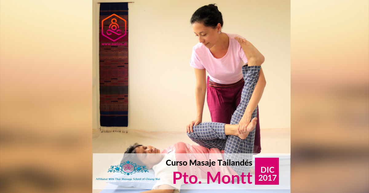Curso Masaje Tailandés 30 horas - Puerto Montt