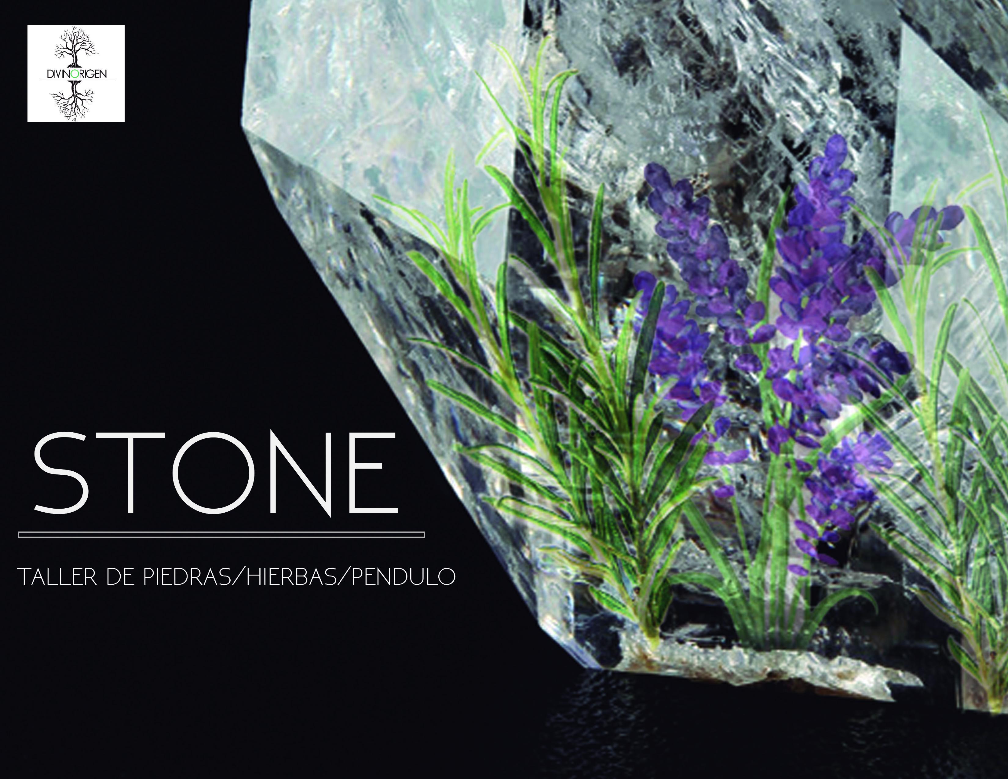 Stone Taller de piedras/ hierbas / péndulo
