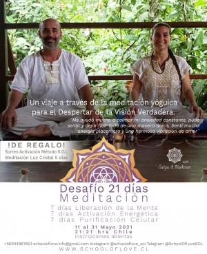 Desafío 21 días de Meditación
