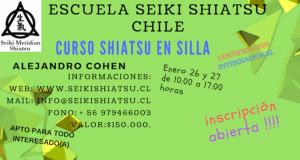 SHIATSU EN SILLA. Dicta Alejandro Cohen